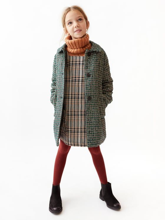 Abrigo Fantasia Torzal Kinder Wintermode Madchen Wintermode Kinderkleidung