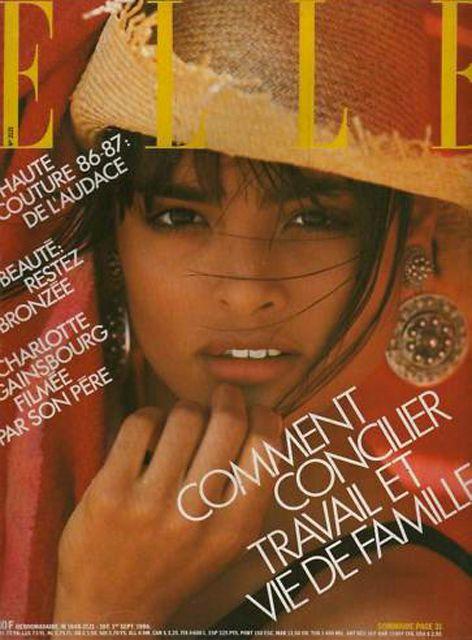 ELLE Spain 1987, Model: Talisa Soto: