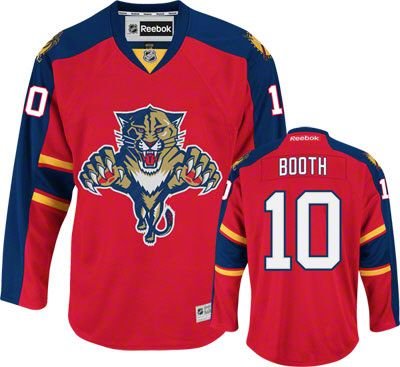 d4ac20e0532 Florida Panthers David Booth 10 Red Authentic Jersey Sale ...