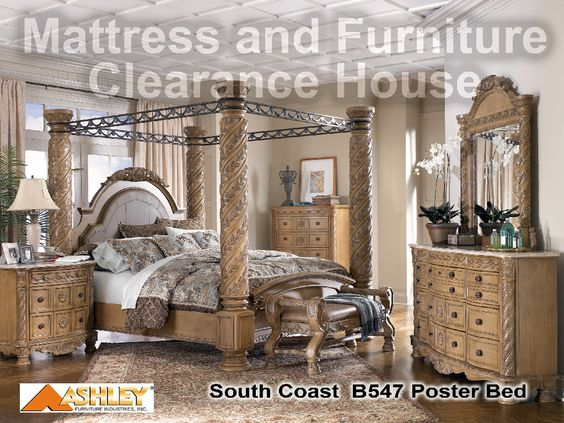 Millennium By Ashley South Coast King Poster Bedroom Suite