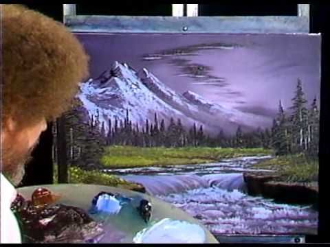 bob ross  painting arctic beauty  painting video  pbs