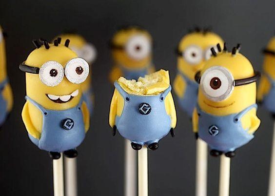 Zuckersüße Mini Minions Cake Pops - detailverliebt.de