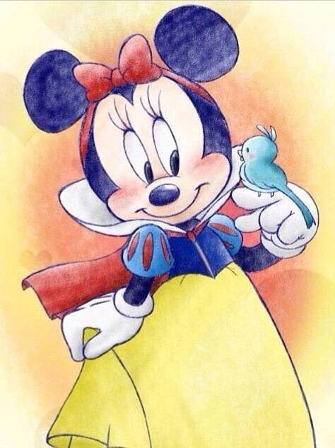Minnie Branca de Neve