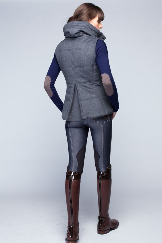 COMING SOON - Melton Vest - Charcoal Mix