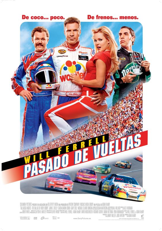 Pasado de vueltas - Talladega Nights The Ballad of Ricky Bobby