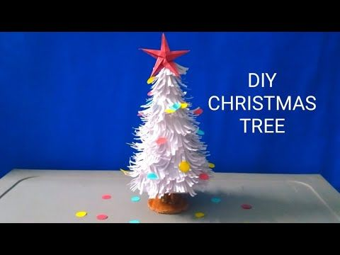Pin By Aaa On Cardboard Craft How To Make Christmas Tree Diy Christmas Tree Paper Christmas Tree