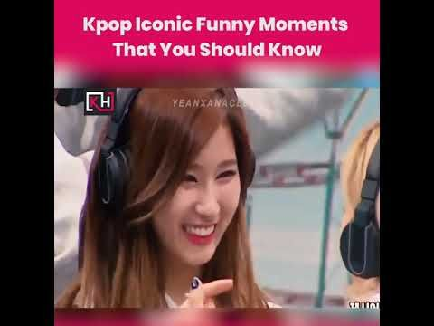 Kpop Iconic Funny Moments That You Should Know In 2020 Funny Moments In This Moment Kpop