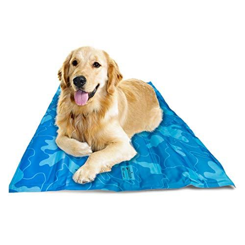 Greenbone Self Cooling Pet Mat For Floor Bed Crate Cool Dog Mat
