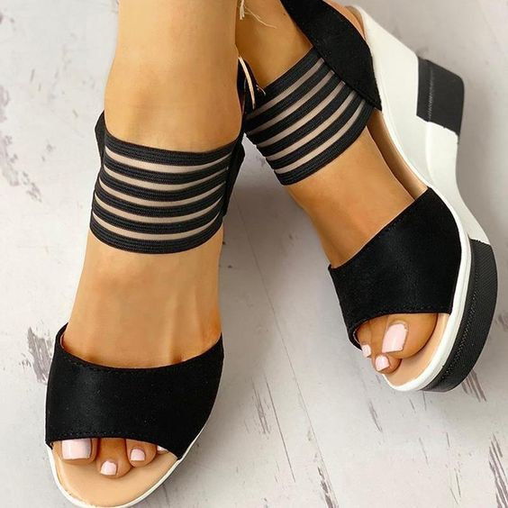 22 Summer Casual Sandals To Rock This Spring Summer shoes womenshoes footwear shoestrends