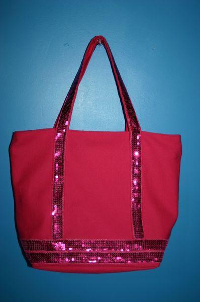 tutu du sac paillettes avec fermeture clair sac fr pinterest tuto sac roses and. Black Bedroom Furniture Sets. Home Design Ideas