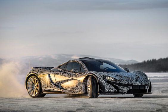 Novo McLaren P1 em testes (com vídeo) | iSPEED