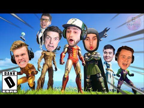 Youtuber S Edition 2 Fortnite Season 4 Dank Meme Trailer Chapter2 Funny Youtube Memes Fortnite Youtubers