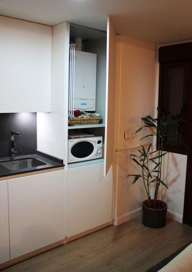 Micro cocina americana dise o de cocinas linea3cocinas for Disenos de cocinas pequenas