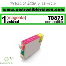 CARTUCHO COMPATIBLE EPSON T0873
