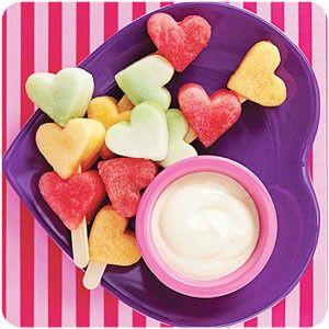 An adorable healthy snack