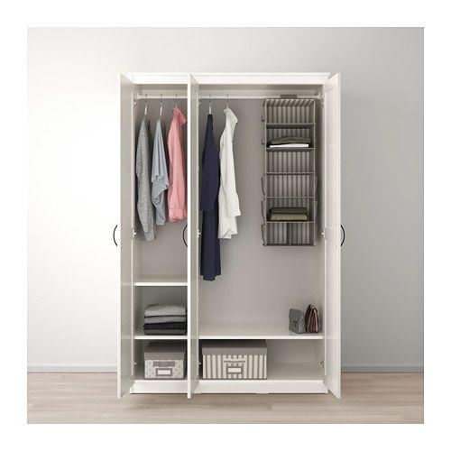 Songesand Kladskap Vit 120x60x191 Cm Ikea Ikea Closet System Standing Closet Free Standing Closet