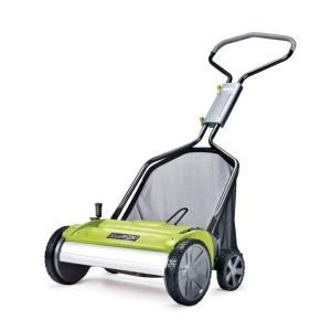 Ellison Evolution 18 in. Easy-Push Reel Mower with Adjustable Grass Management System-E2201-18 at The Home Depot $89