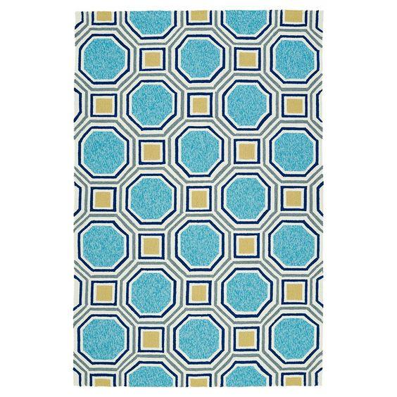 Floor Mat 2 X3 Kaleen Rugs Blue Kaleen Geometric Area Rug Kaleen Rugs