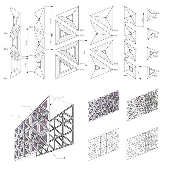 parametric design  design patterns and facades on pinterest
