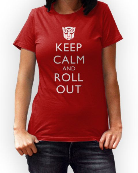 Keep Calm And Roll Out T-Shirt!! HOLY BAALLS!!!!