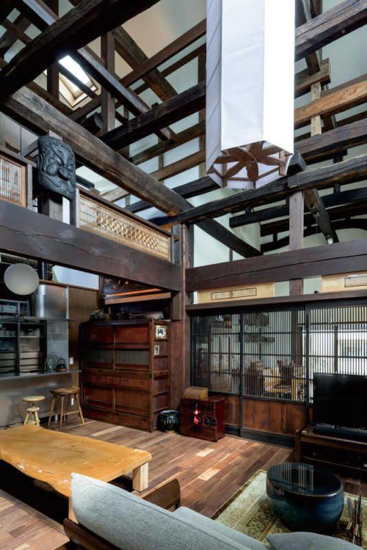 ササキ設計 日本家屋 間取り 古民家 リノベーション 古民家