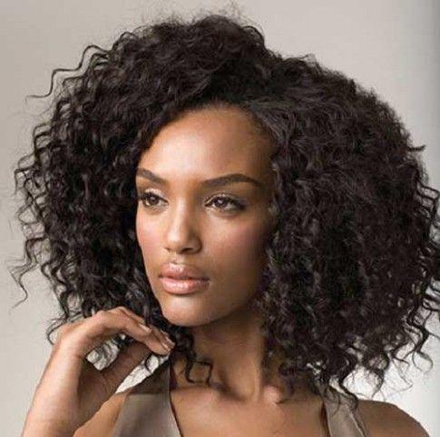 Curly Weavon Hairstyle Di 2020 Gaya Rambut Rambut