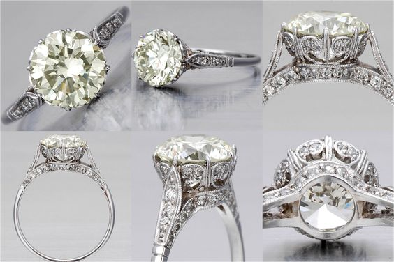 Edwardian Engagement Ring....love!!!