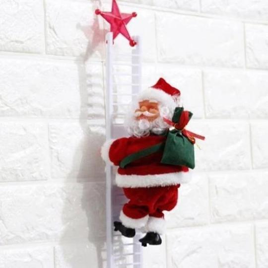 Climbing Santa Claus Best Christmas Gift Kerstpret Kerstboomversieringen Kerstdecoratie