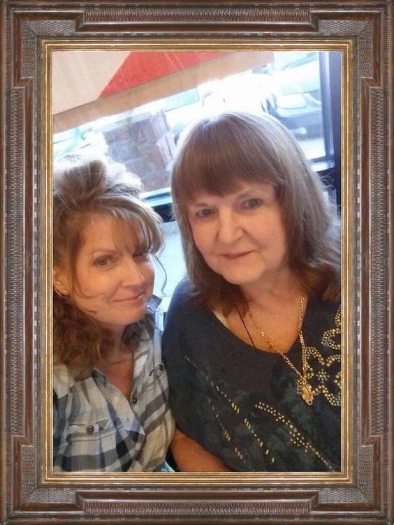 Lynda & ( Mommy). Marge. 6/28/2014