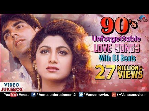 90 S Unforgettable Hits Romantic Love Songs With Jhankar Beats Video Jukebox Hindi Songs Youtube Romantic Love Song Love Songs Romantic Songs
