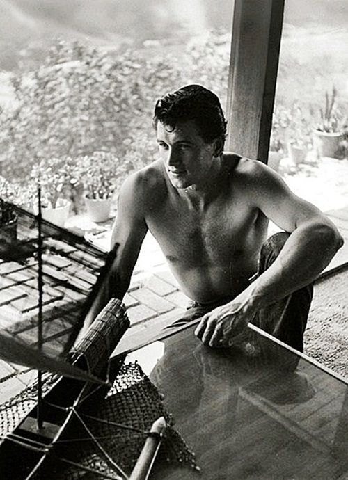 Rock HUDSON (1925-1985) * AFI Top Actor nominee. Notable Films: Giant (1956); Magnificent Obsession (1954); All That Heaven Allows (1955); Written on the Wind (1956); The Tarnished Angels (1957); Pillow Talk (1959); Lover Come Back (1961); Send Me No Flowers (1964); Seconds (1966)