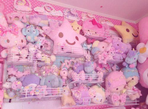 Kawaii Pastel Fairykei Room With Little Twin Stars
