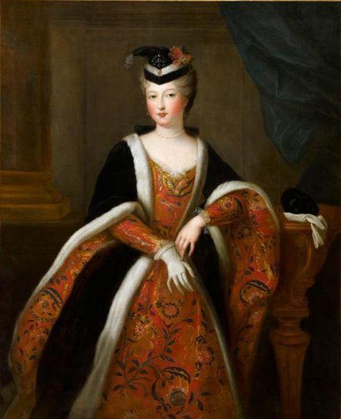 Portrait of Élisabeth-Alexandrine de Bourbon, Mademoiselle de Sens (1705-1765):