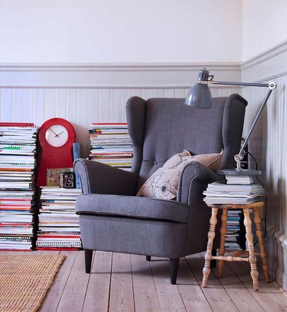 Sessel 15 Modelle Im Retro Stil Legendar Strandmon Von Ikea Schoner Wohnen Ohrensessel Sessel