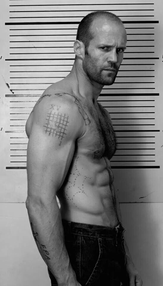 Jason Statham (prob spelled the last name wrong lol)