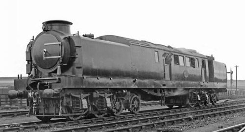 Smokebox view of the Reid-MacLeod Steam Turbine Locomotive (NRM)