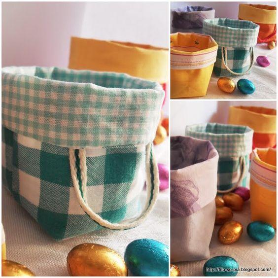 utorial per cucire sacchetti di stoffa