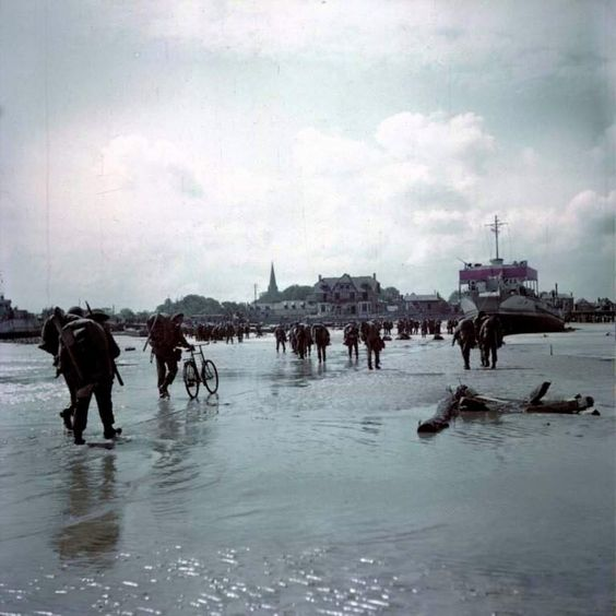 d-day normandy juno beach