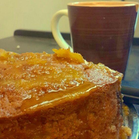 Orange Marmalede Coffee Cake #homemade #marmalede #orange #cinnamon #sugar #glaze #tea #coffee #cake #fresh #bakes