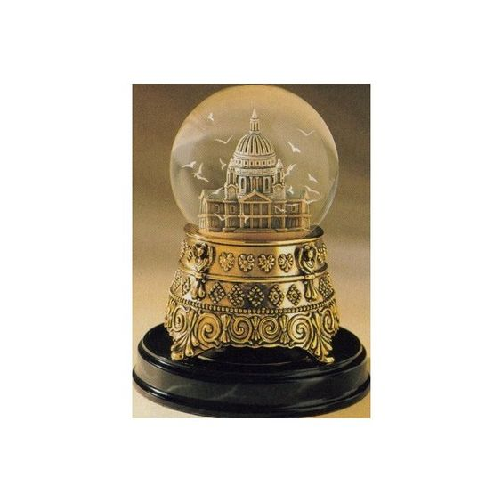 """Mary Poppins St Paul's Cathedral """"Feed the Birds"""" Snowglobe with birds instead of snow...  These go for $1K on eBay... sigh."""