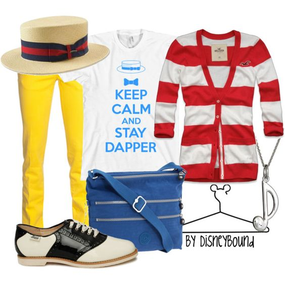 Dapper Dans, created by lalakay on Polyvore #disney: Disney Clothes ️, Disneybound Ideas, Disneybounding Ideas, Disney Outfit, Disneybound Board, Disneybound Dapper, Disneybound Outfits, Disneybound Fashions, Disney Thing
