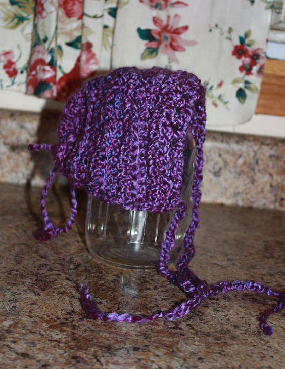 Baby Bonnets by SharedCreations1 on Etsy, $12.00