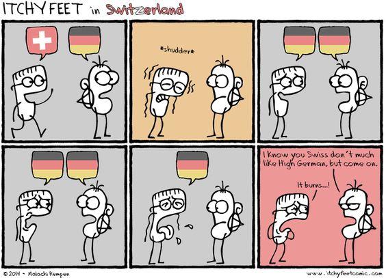 Languages Spoken in Switzerland