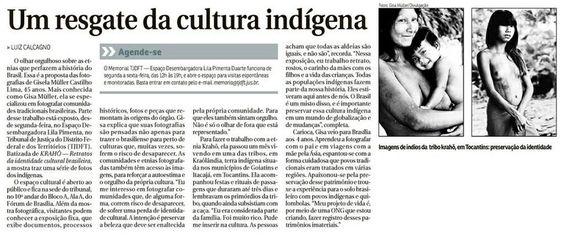 Exposição Índios Correio Braziliense