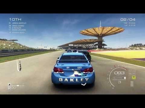 GRID Autosport - Gameplay PC ( Race 4 )