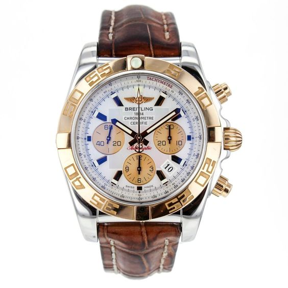 Breitling Chronomat Mother Of Pearl Dial