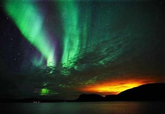 Stunning Photo of Aurora Borealis!