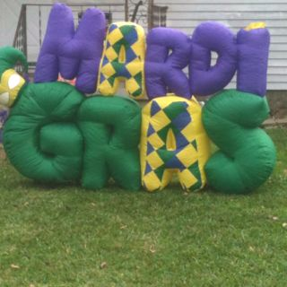 Mardi Gras Blow-up