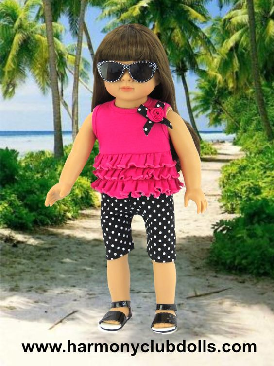 HARMONY CLUB DOLLS www.harmonyclubdolls.com Shop Over 600 doll clothes styles to fit American Girl Dolls: