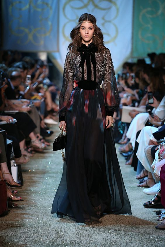Elie Saab Haute Couture Autumn Winter 2017 18 Elie Saab Elie Saab Couture Fashion
